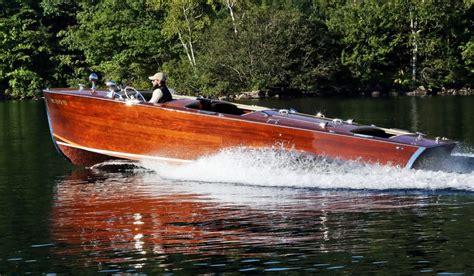 chris craft  wooden boat restoration raptor case