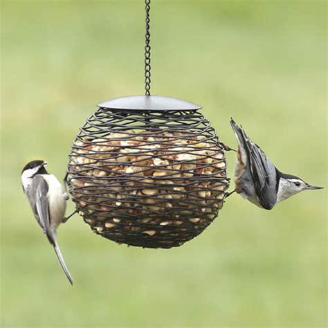 duncraft com mesh globe peanut feeder