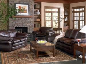 brown leather couch living room ideas get furnitures for home