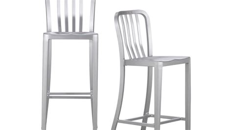 Aluminum Bar Stools Crate And Barrel by Delta Aluminum Bar Stools And Cushion Crate And Barrel