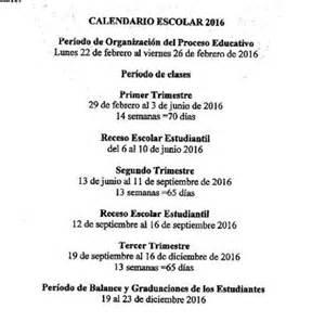 Calendario 2018 En Panama Calendario Escolar 2017 Panama