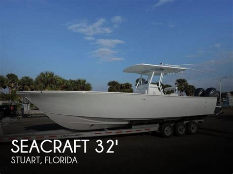 seacraft boats for sale florida for sale used 2000 seacraft 32 master angler in stuart