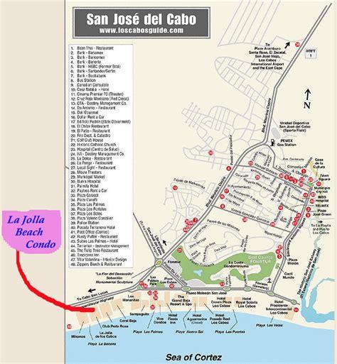 san jose nightlife map culture los cabos condo for rent in la jolla