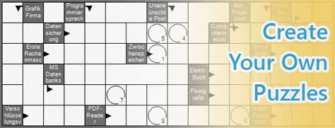 make your own crossword template puzzle generator windows tool to create your own puzzles