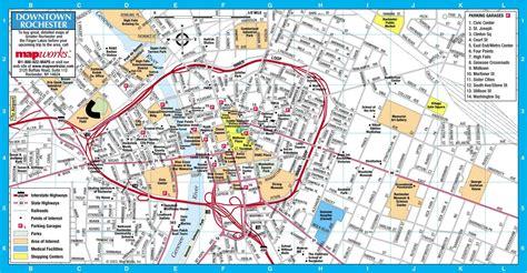 rochester ny rochester ny map free printable maps