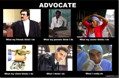 What I Do Meme - friday fun what people think indian lawyers do versus