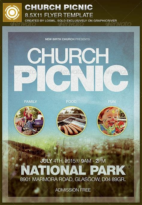 Best 20 Church Picnic Ideas On Pinterest Picnic Flyer Template Word