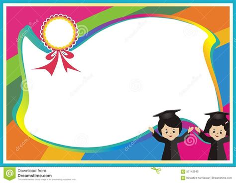 certificate background design for kids clipartsgram com