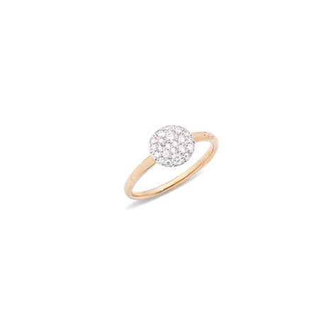 pomellato rings pomellato ring sabbia in white lyst
