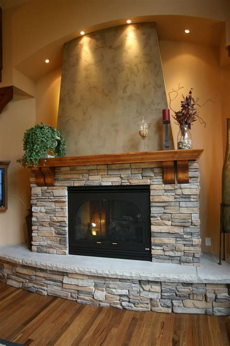 34 Beautiful Stone Fireplaces That Rock Rocks For Fireplace