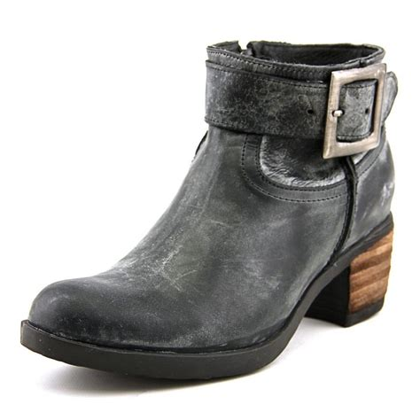 cordani jeron leather black ankle boot boots