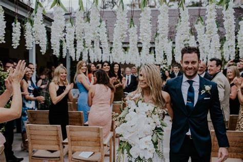Becky and Andy's Fantasy Floral Wedding   Real Wedding