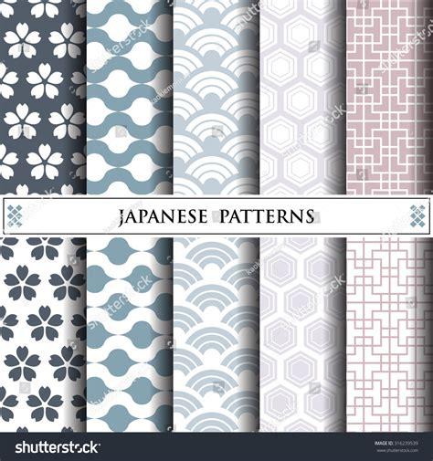 svg pattern fill offset japanese vector patternpattern fills web page stock vector