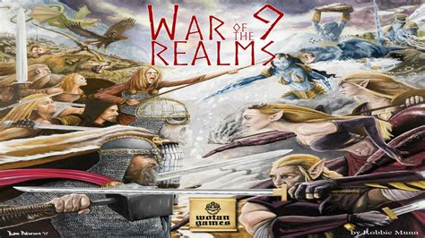 war of the realms valkyrie books war of the nine realms by laurence o brien kickstarter