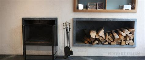 fireplace log storage the brownstone pre war specialists