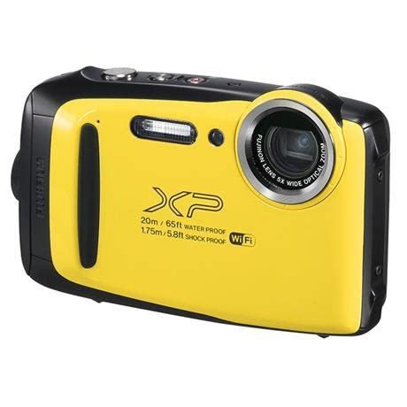 fujifilm xp130 rugged waterproof digital camera in yellow