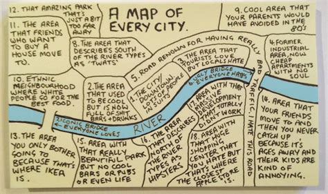 map of city this map of every city in the world is hilariously spot
