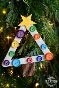 diy kids christmas tree ornament made from pinterest