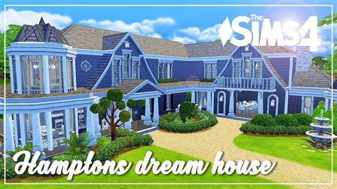 dream house builder online the sims 4 speed build htons dream house youtube