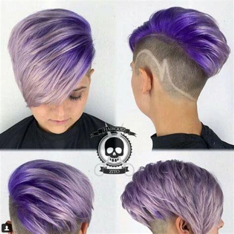 Frisuren Mit Farbe by Die Besten 17 Ideen Zu Kurze Flippige Frisuren Auf
