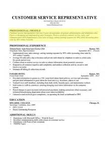 Profile Resume Exles For Customer Service How To Write A Professional Profile Resume Genius