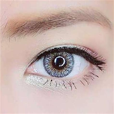 buy neo glamour grey colored contacts | eyecandys