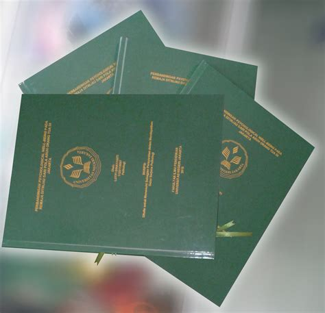 Hardcover Thesis Murah by Jilid Thesis Murah