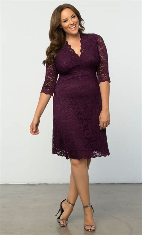 Pre Order Paula Batik Lace Dress pre order scalloped boudoir lace dress plum plum wrap plus size clothing