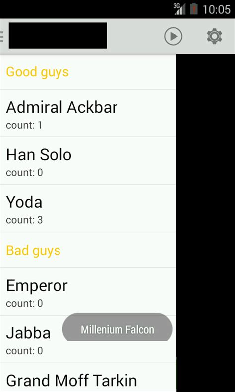 layoutinflater in drawer android 2 or more expandablelistview inside navigation