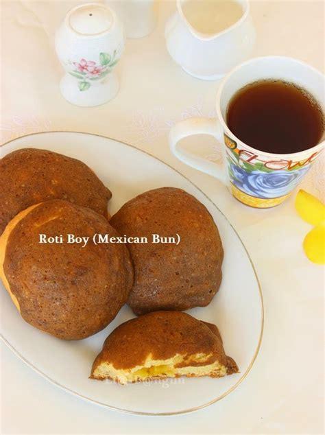 dapurcobacoba roti boy mexican bun