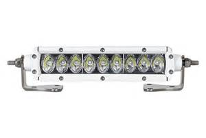 marine led light bar rigid industries 174 90361 6 quot sr series single row marine