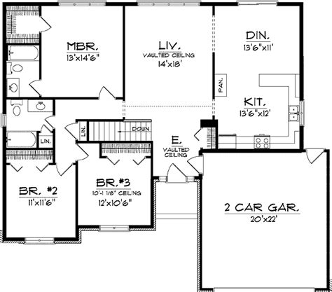 good house floor plans good looking ranch house plan 8945ah 1st floor master suite cad available pdf ranch