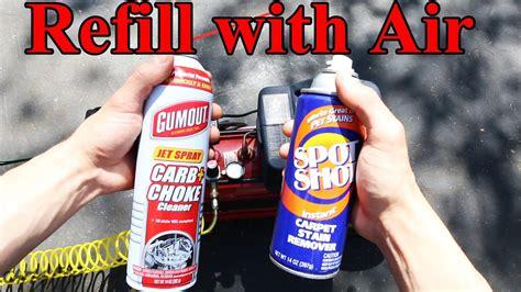refill  aerosol spray   carb cleaner