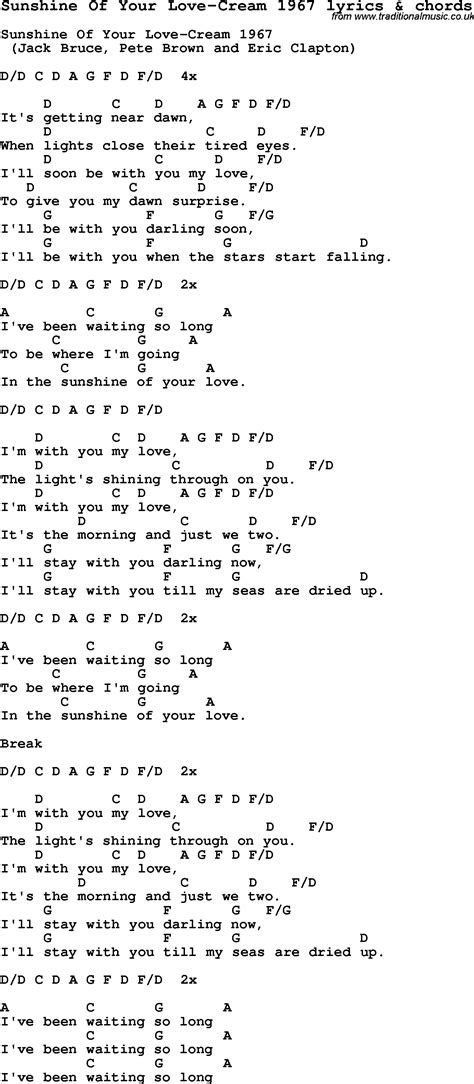images of love lyrics love song lyrics for sunshine of your love cream 1967 with