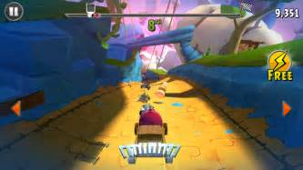 angry birds go review another ios game bogged down by in