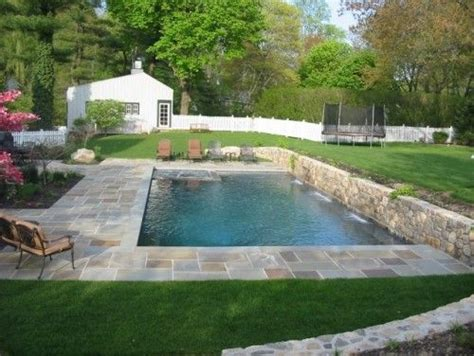 putting a pool in a small backyard 1000 images about pools with retaining walls on pinterest