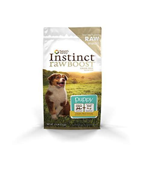 puppy boost nature s variety instinct boost puppy grain free chicken meal formula food