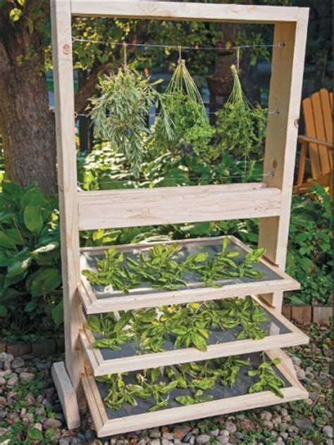 Gardening Rack Best 25 Herb Drying Racks Ideas On Herb Rack