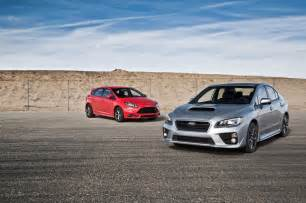 2014 Ford Focus St 2014 Ford Focus St Vs 2015 Subaru Wrx Comparison Motor