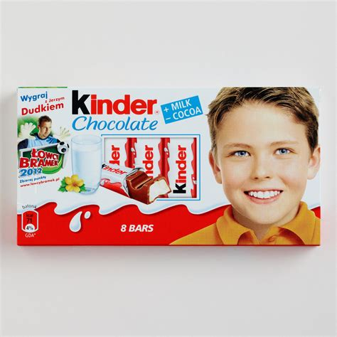Kinder Chocolate Bar s bookbag kinder chocolates