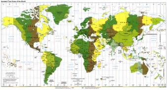 us time zone map large yes technology inside