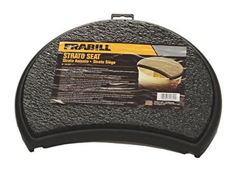 5 gallon seat pad frabill strato seat 082271116420 toolfanatic