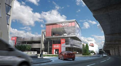 perris kia dealership kia vice president breaks ground for flagship kia west