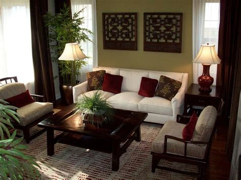 Asian Decor Living Room | del sur residence