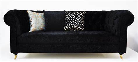 Black Velvet Chesterfield Sofa Black Velvet Chesterfield Sofa By Namedesignstudio Things I Pinterest Cats