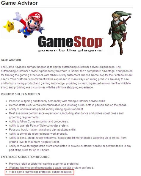 cover letter for gamestop software knowledge gamestop application