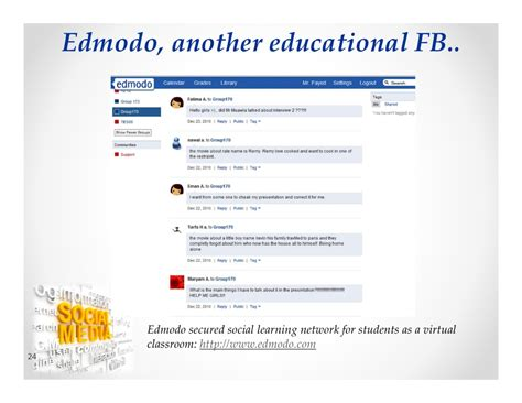edmodo journal engaging students in practical authentic learning