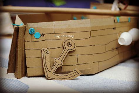cardboard boat tutorial diy cardboard boat diy do it your self