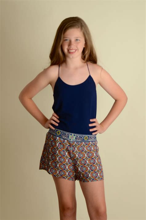 popular tween clothing embroidered detail waist shorts for tween girls betwixt