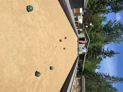 bocce ball court mutual materials